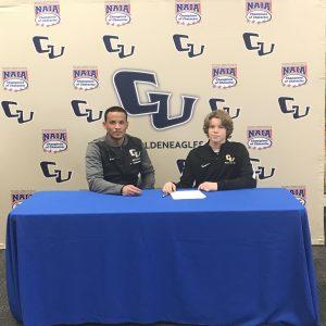 Blickley and VanderKolk sign for College Soccer