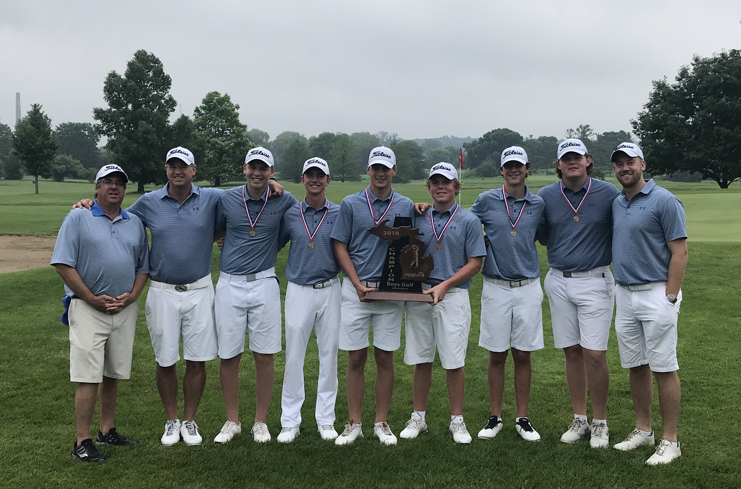 Boys Golf State Champions