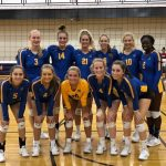 Varsity Volleyball Takes 1st in Silver at Caledonia Invitational