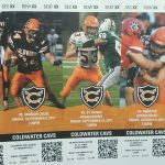 "Coldwater Season Ticket Orders now available (go to ""more"" tab)"