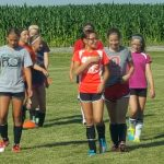Lady Cavs Soccer Camp