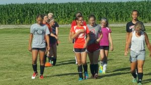 Lady Cavs Soccer Camp
