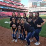 Coldwater Girls Bowling State Champs honored at Cincinnati Reds game