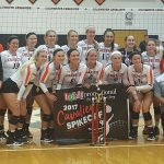 Coldwater Varsity Girls Volleyball wins Totally Promotional Coldwater Spikeoff