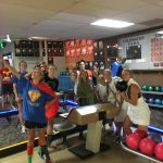 Girls Middle School Cross Country finishes 1st place at Goodwin XC Bowling Classic