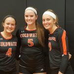 Coldwater Volleyball players shine in All Star match at The Palace