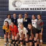 Cavalier Volleyball represented at OHSVCA State All Star match