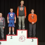 Boys Middle School Wrestling finishes  at Milton Union