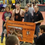 Thomas Schwieterman picks up his 100th career win