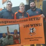 Coldwater Wrestler Seth Obringer picks up career win # 100