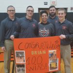 Coldwater Wrestler Brian Chmielewski picks up Career win # 100