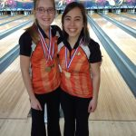 Emily Sudhoff and Emily Fortener earn All District Bowling Honors