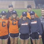 Coldwater Junior High Girls 4×200 Relay sets a Meet Record