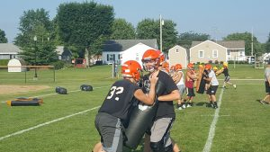 Cavalier Football Camp Photos