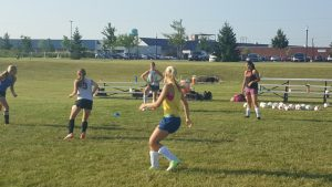 Lady Cavs Girls Soccer Camp Photos