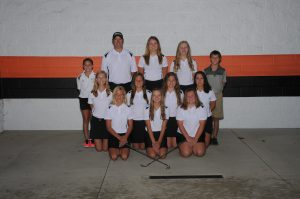 Girls Golf Team Photo and Senior Photo