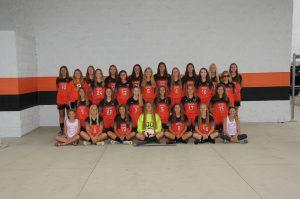 Lady Cavalier Girls Soccer Team and Senior Photos