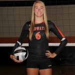 Lauren Gilliland joins the Coldwater Ring of Honor with 1st Team All State Volleyball Honors