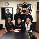 Grant Meyer signs to play baseball at Findlay