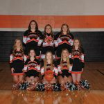 Winter Cheerleading Team Photo Gallery