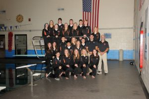 Swim and Dive Team Photo