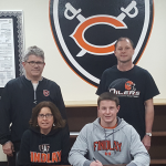 Coldwater senior Mitch Niekamp signs with Findlay University for football