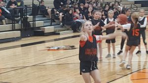 Coldwater Girls Basketball host future players at halftime