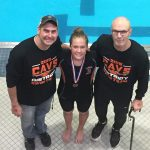 Macy May finishes 18th at State Swim