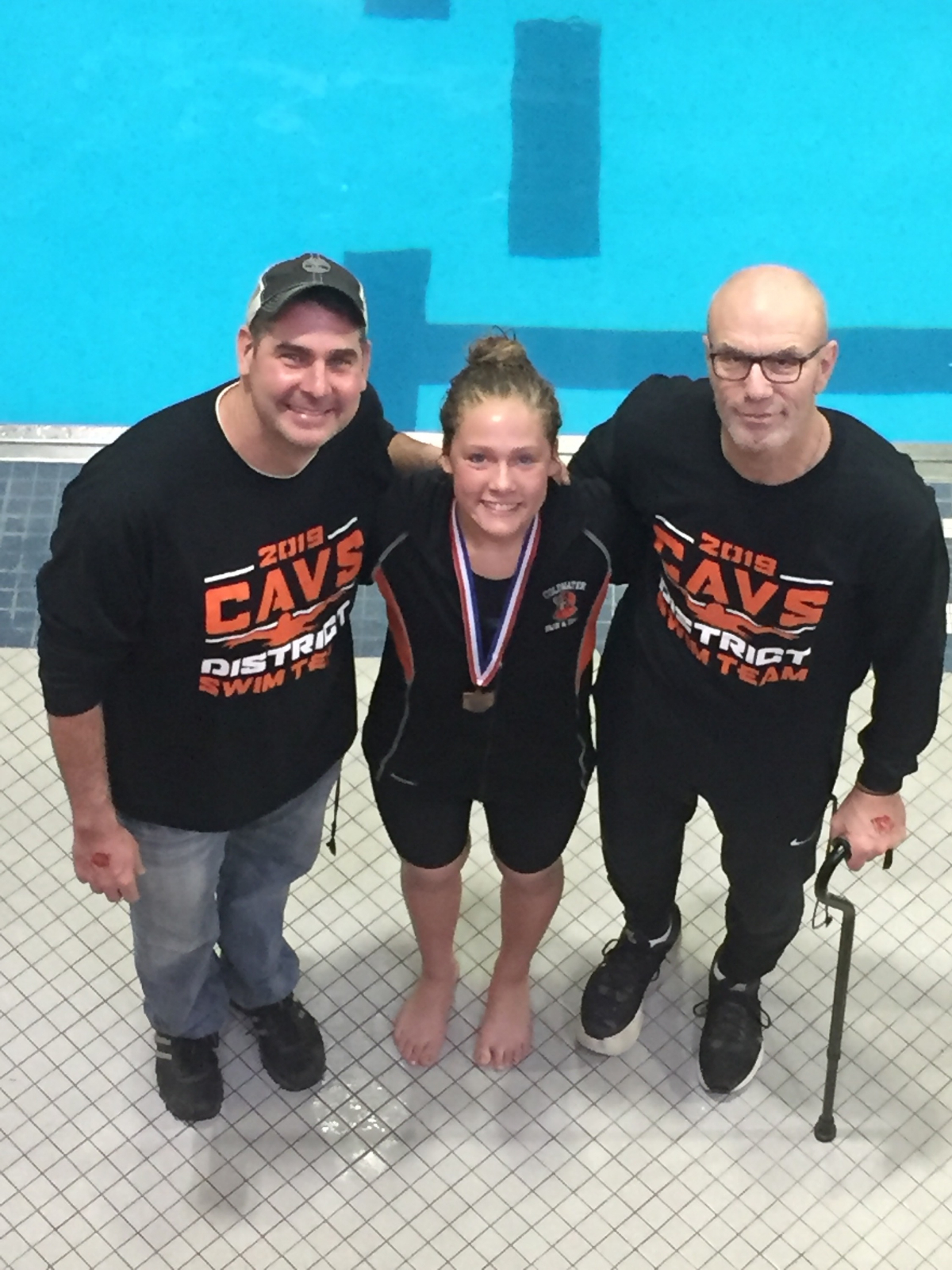 Macy May is headed to State Swim