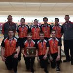 Coldwater Boys Bowling finishes as District Runner Up.  Heading to State!