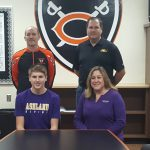 Isaac Osterfeld signs with Ashland University