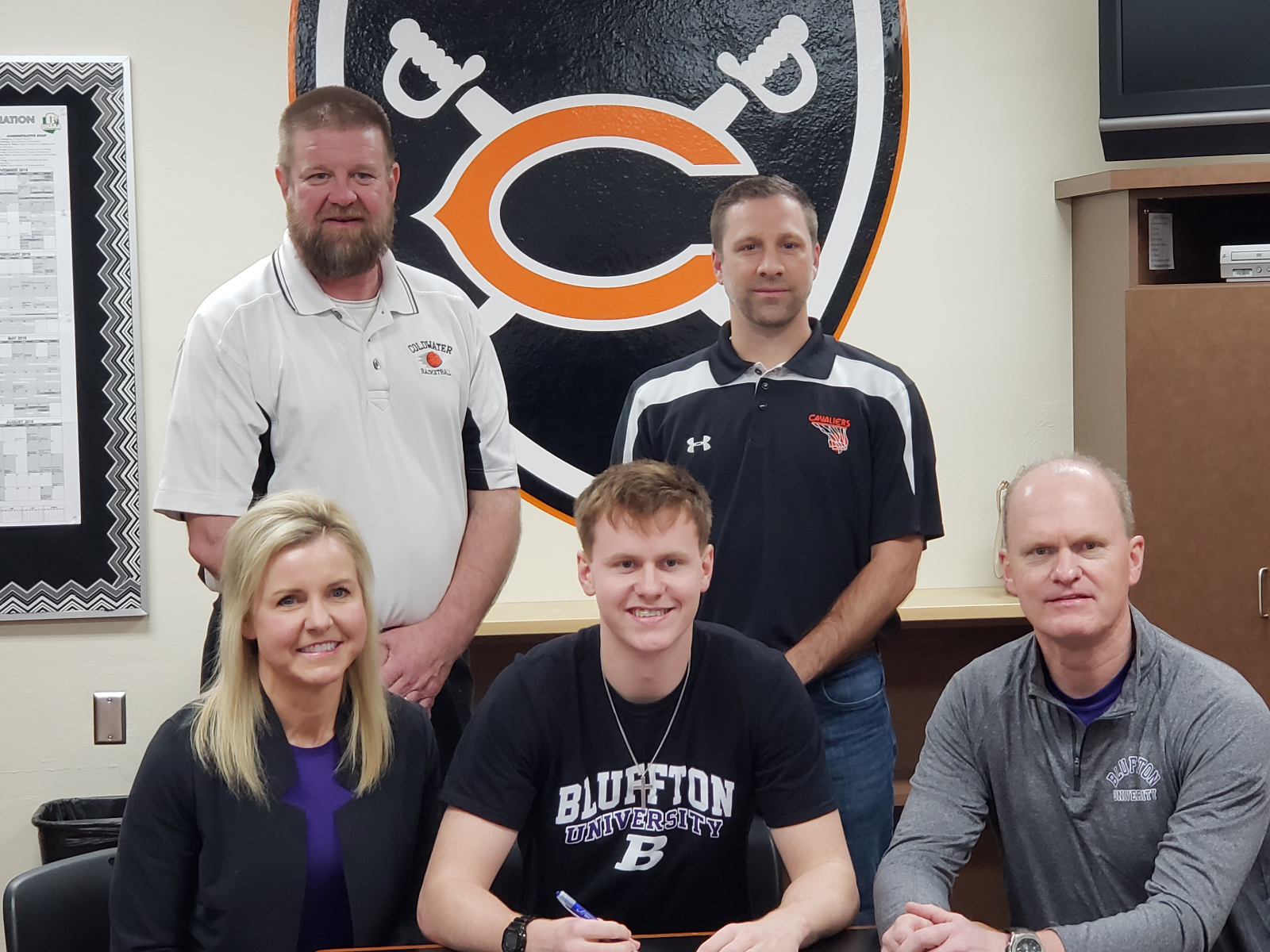 Coldwater Basketball Senior Marcus Bruns to attend Bluffton University