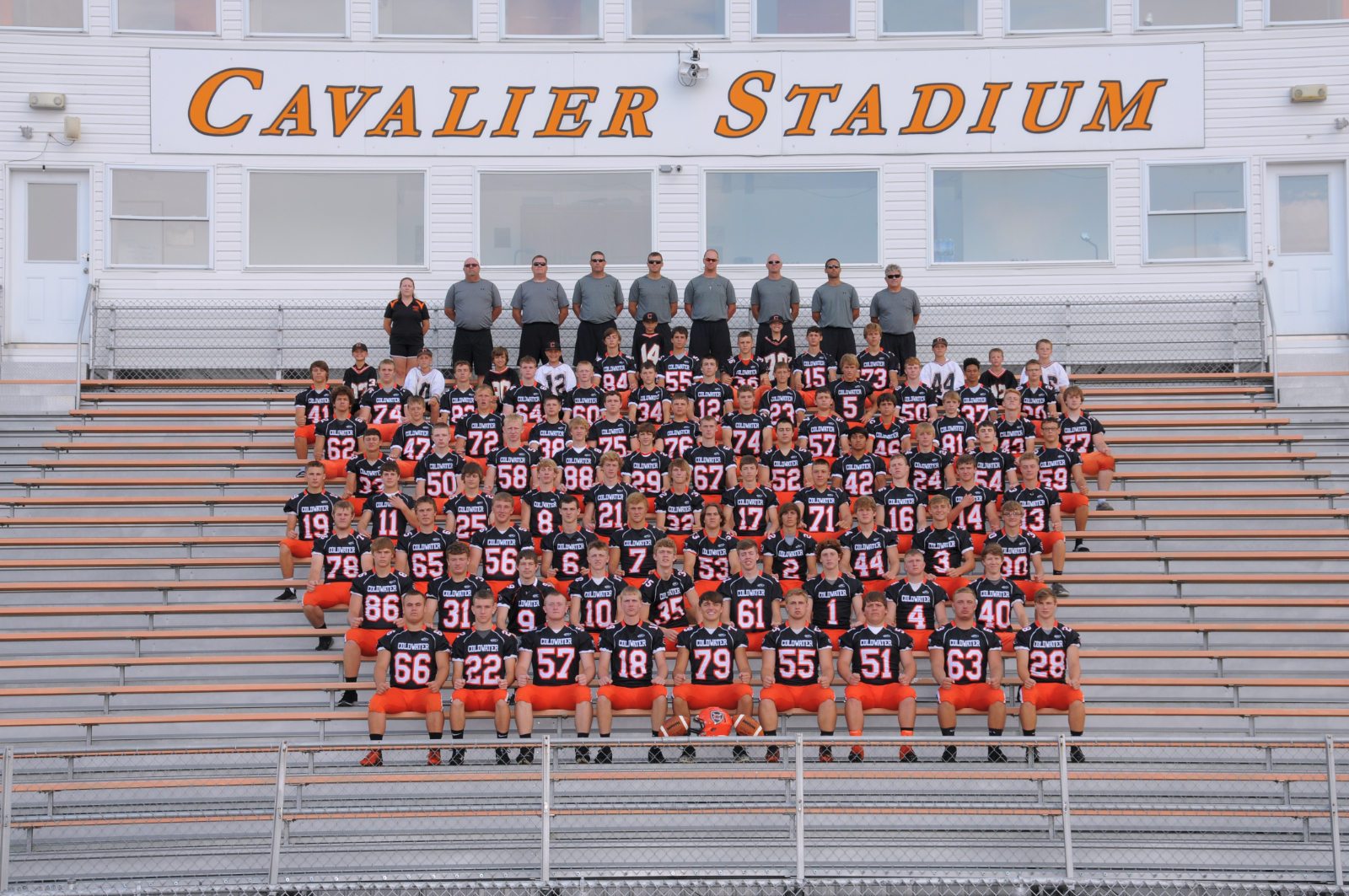 Coldwater football earns Academic All Ohio Honors