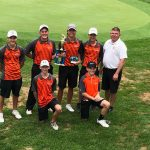 Coldwater Boys Varsity Golf finishes 2nd place at Allen East Invitational