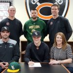 Coldwater senior Nick Bailey signs with WSLC for baseball