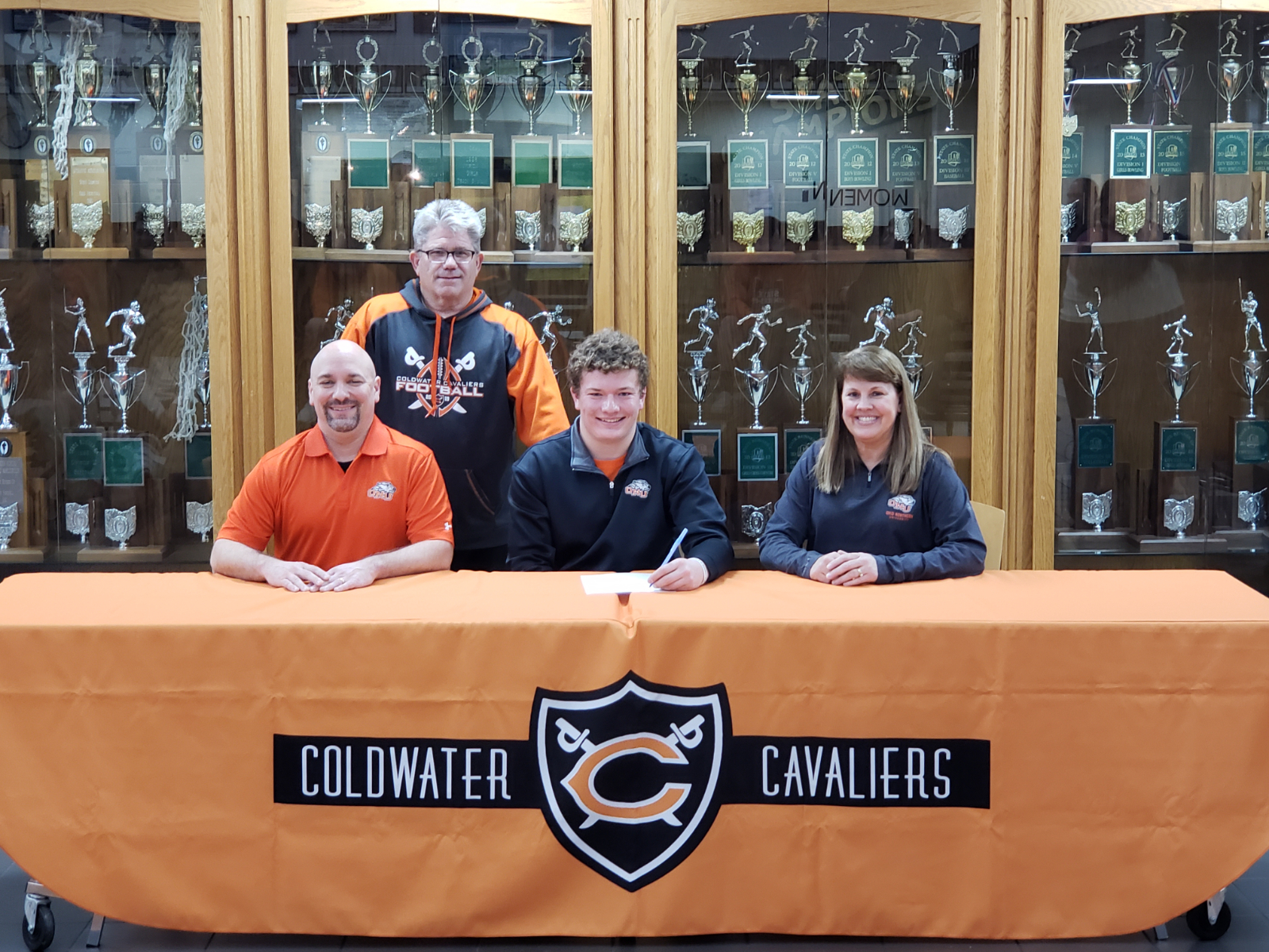 Coldwater senior Josh Hrycko to continue his career at Ohio Northern University