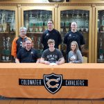 Coldwater senior Noah Miller signs with Ohio Northern University