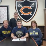 Russell Klosterman signs with Mount St. Joseph