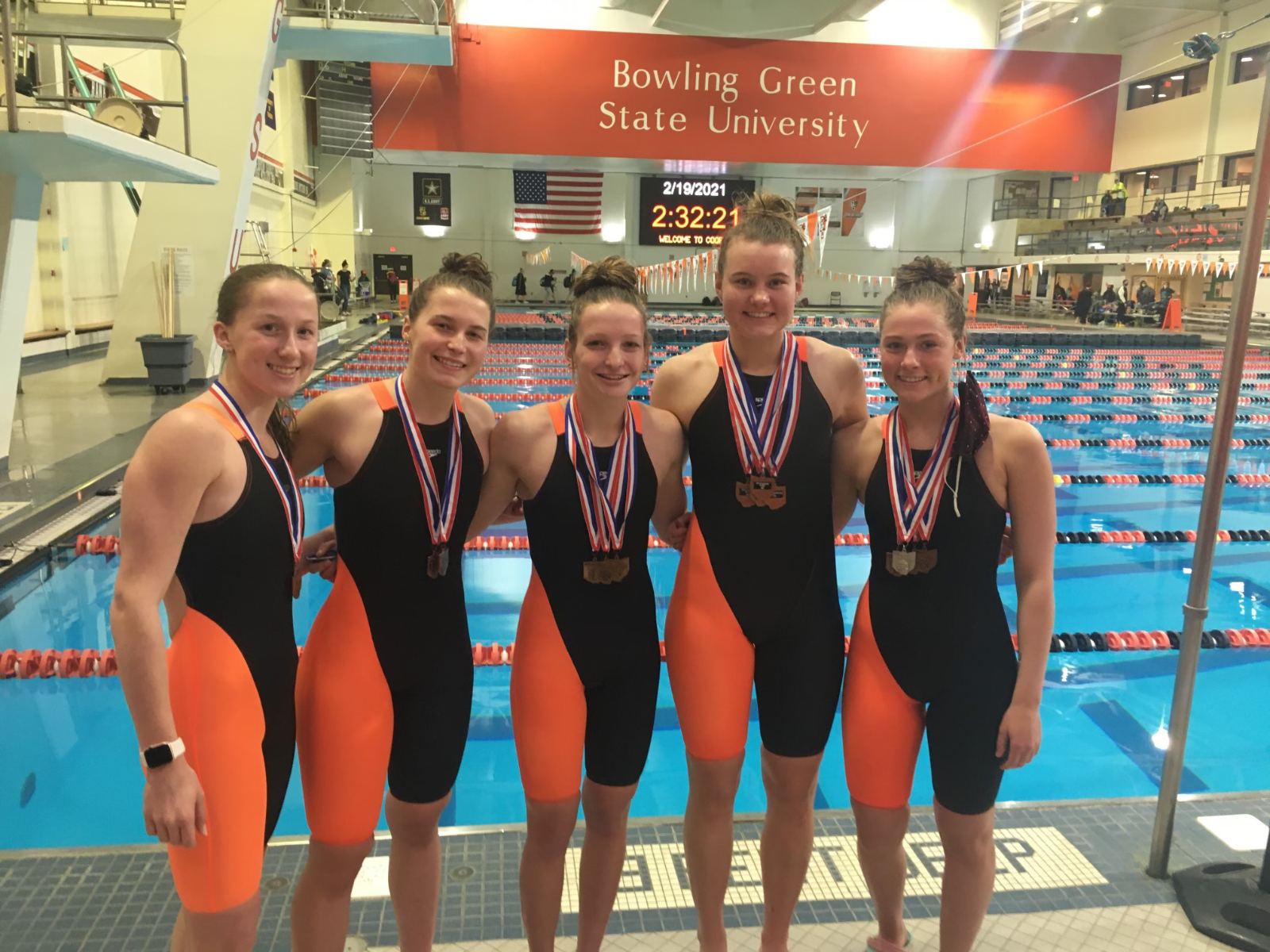 Coldwater Girls Swimmers to join the Ring of Honor with All Ohio Honors