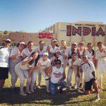 Indians Girls Varsity Softball knocks off The Blackhawks in Extras