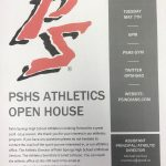 PSHS Athletics Open House for Incoming 9th Graders! Tuesday May 7th 6pm!