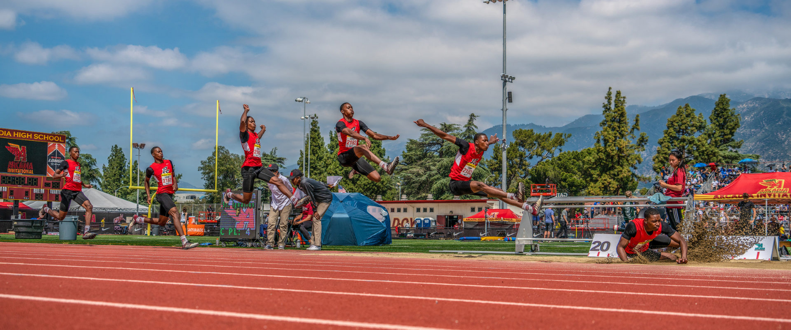Damion Loman CIF Div. 3 Long Jump Championship Highlights PSHS Very Successful CIF Track and Field Day!