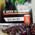 Gatorade Sponsor's G-Week for San Mateo Athletes