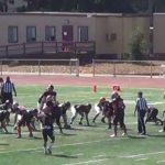 San Mateo High School Varsity Football ties Los Gatos Wildcats 0-0