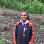 Mallorie Jenne Wins Girls Frosh/Soph Cross Country Race at Lowell Invitational