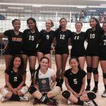 San Mateo High School Girls Varsity Volleyball beat Menlo Tournament 3-2