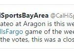 San Mateo @ Aragon Wells Fargo Cal-Hi Sports Bay Area Game of the Week