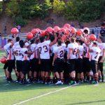 San Mateo High School Junior Varsity Football beat Aragon Dons 28-0