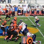 San Mateo High School Junior Varsity Football beat Jefferson Indians 31-0