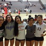 San Mateo High School Girls Junior Varsity Volleyball beat El Camino High School 2-0